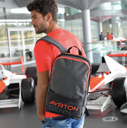 Ayrton Senna McLaren Backpack - Accessories - Grey