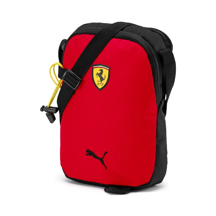 2019 Puma Scuderia Ferrari Lifestyle Portable Bag - Men - Red - FanaBox