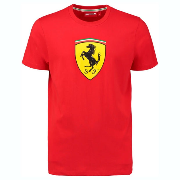 2019 Scuderia Ferrari Big Shield Logo T-Shirt - Kids - red - FanaBox