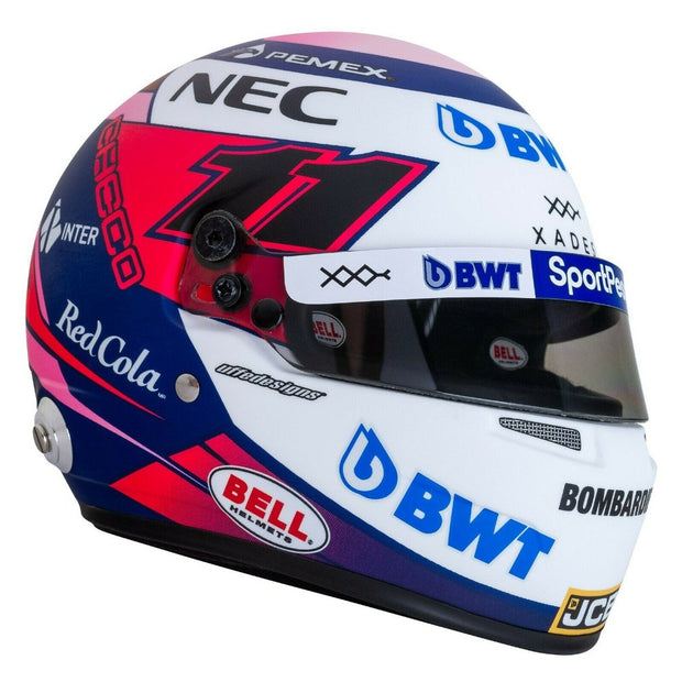 Sergio Perez Racing Point 2019 F1 Replica Bell 1:2 Scale Helmet - Accessories - Multi Color