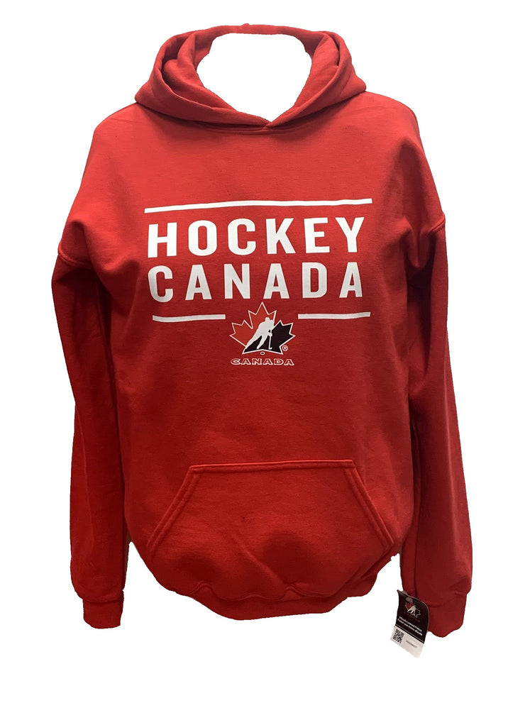 Team Canada Hockey Hoodie - Youth - Red