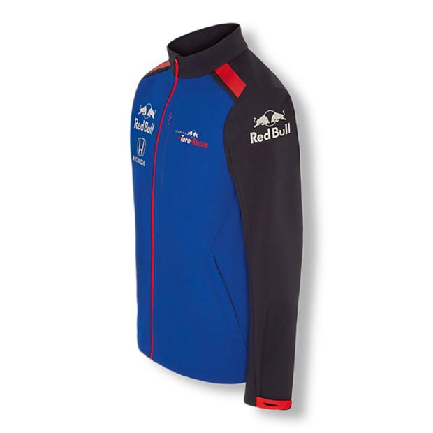 Scuderia Toro Rosso Teamline Softshell - Men - Blue - FanaBox