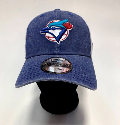Toronto Blue Jays New Era The League 9FORTY Adjustable Hat - Men - White & Blue