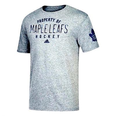 Adidas Toronto Maple Leafs NHL T-Shirt - Men - Grey - FanaBox