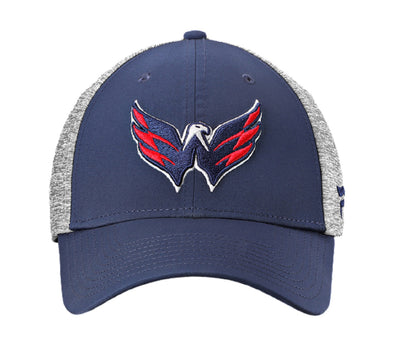 Washington Capitals Fanatics Playoff Cap Closed- Men - Grey & Navy