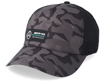 Mercedes-AMG Petronas Motorsport Camo Cap - Men - Black