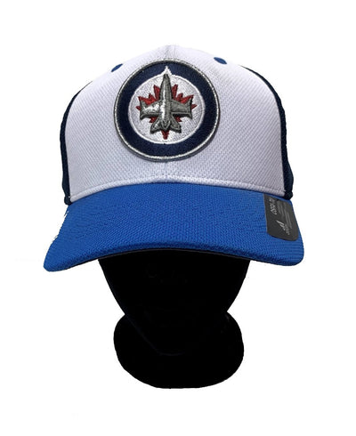 Winnipeg Jets Adidas Cap - Men - Whithe & Navy