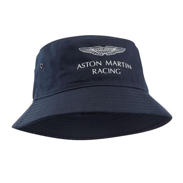 Aston Martin Racing Bucket Sun hat - Men - Blue - FanaBox