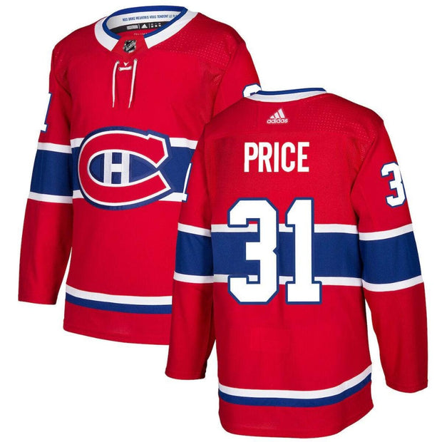 Montreal Canadiens Adidas Authentic Pro #31 Carey Price Jersey - Men - Red