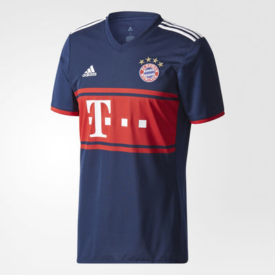 Adidas Bayern Munich Men Jersey Blue