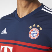 Genuine Adidas Bayern Munchen Men Jersey Blue