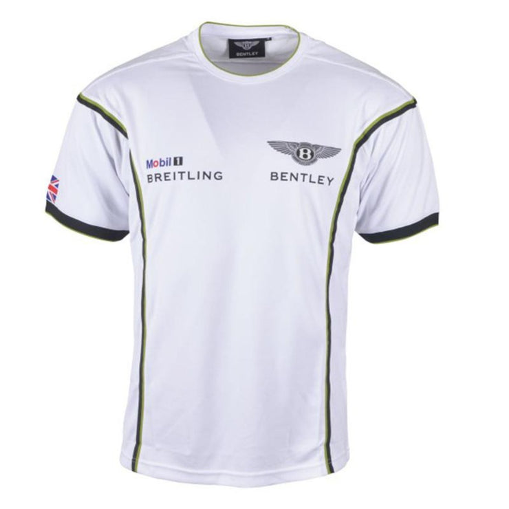 Bentley Continental GT3 Motorsport Technical T-Shirt - Men - White - FanaBox