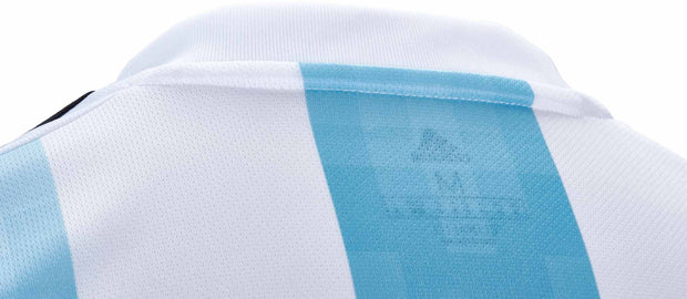Adidas Argentina Home Soccer Jersey - Youth - Blue & White