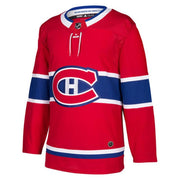 Montreal Canadiens Adidas Authentic Pro Home Jersey  - Men - Red - FanaBox