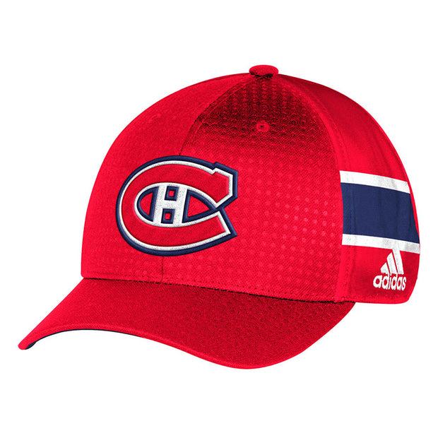 Montreal Canadiens Adidas NHL Official Cap - Men - Red - FanaBox