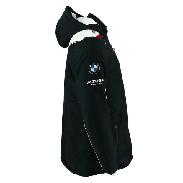 Gulf Althea BMW Motorsport Fall Winter Hooded Jacket - Men - Black