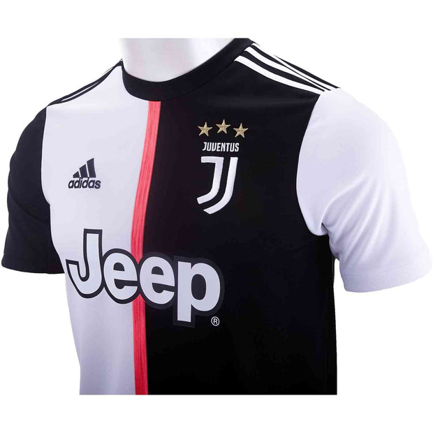 Adidas Juventus Jersey - Men - White & Black