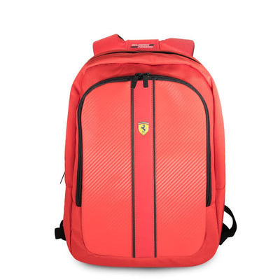 Scuderia Ferrari carbon pattern Pit Stop Collection MacBook Pro Laptop BackPack