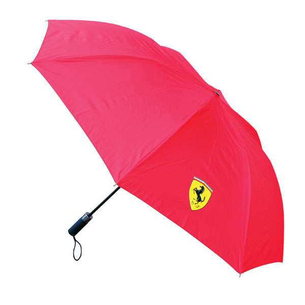 Scuderia Ferrari Compact Small Mini Umbrella -  Accessories - red or black - FanaBox