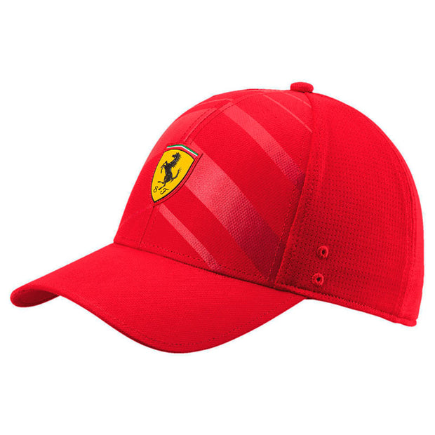 Puma Scuderia Ferrari Fanwear Tech Baseball Cap - Kids - Red - FanaBox