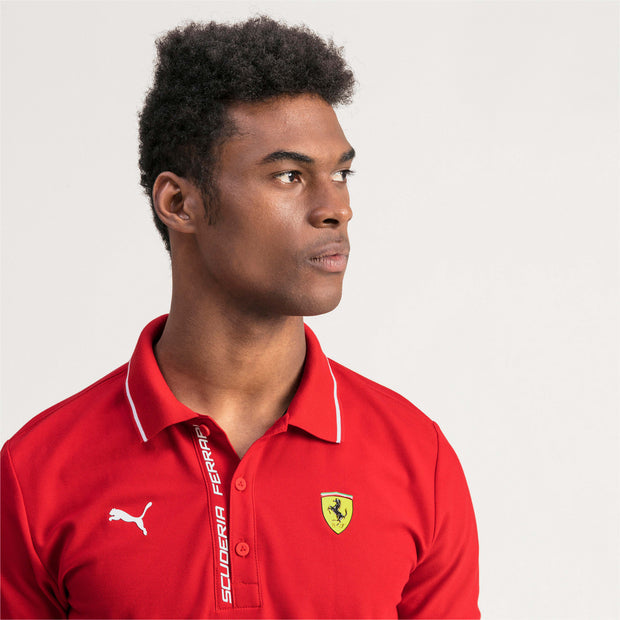 Puma Scuderia Ferrari Lifestyle Polo shirt - Men - Red
