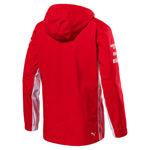 Puma Scuderia Ferrari Rain Jacket - Men - Red