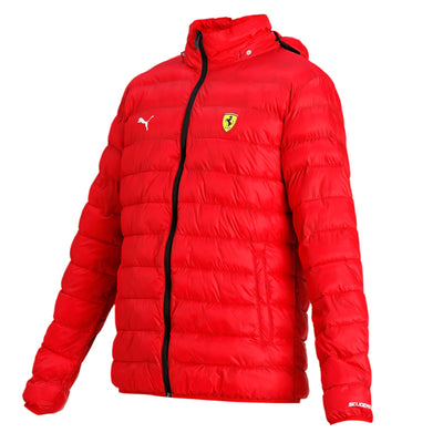 Puma Scuderia Ferrari Eco PackLite Jacket - Men - Red