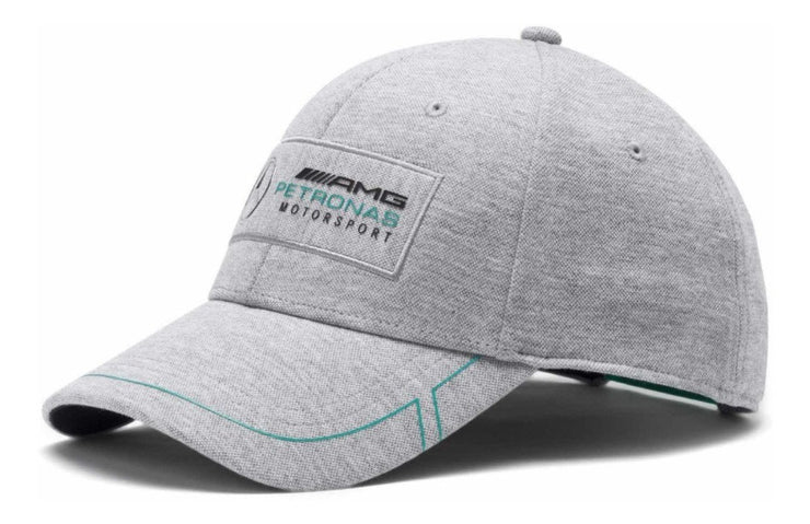 2019 2020 Puma Mercedes AMG Motorsport BB Cap - Men - Grey - FanaBox