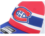Montreal Canadiens NHL® Draft Home Structured Trucker Snapback Baseball Cap - Youth -  Red,Blue and /White