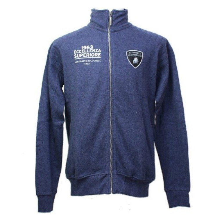 Lamborghini Driving Full-zip Sweatshirt - Men - Dark Navy - FanaBox