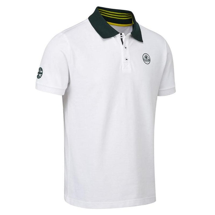 Lotus Cars Classic Polo Shirt - Men - White and Green - FanaBox