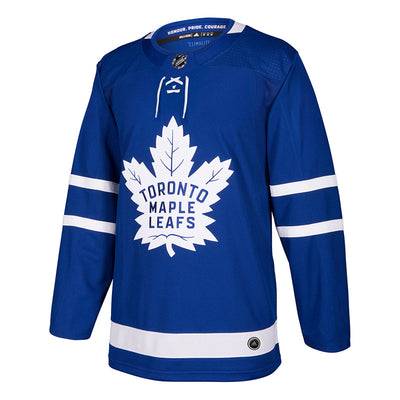 Toronto Maple Leafs Adidas adizero NHL Authentic Pro Home Jersey - Men - Blue - FanaBox