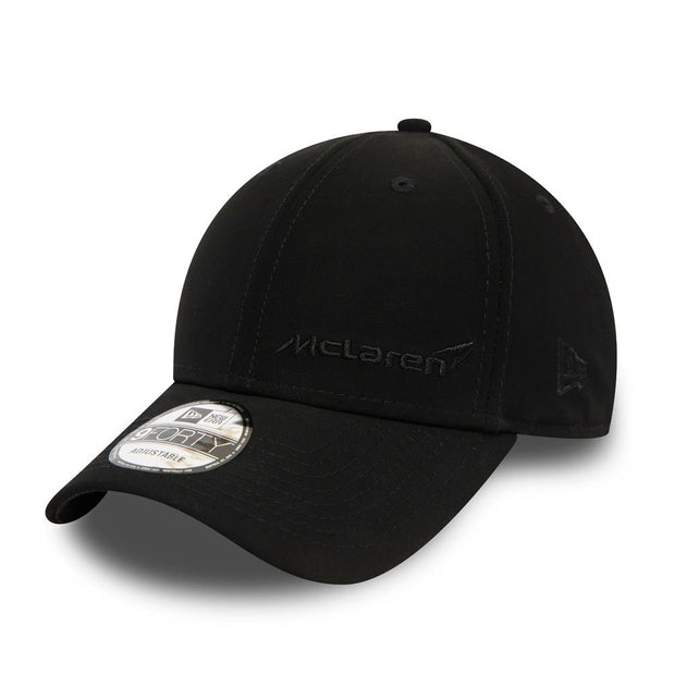 McLaren New Era LifeStyle 9FORTY Strapback Cap - Men - Matte Black