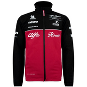 Alfa Romeo Racing Team Replica Softshell Jacket 2020 - Men - Burgundy Red