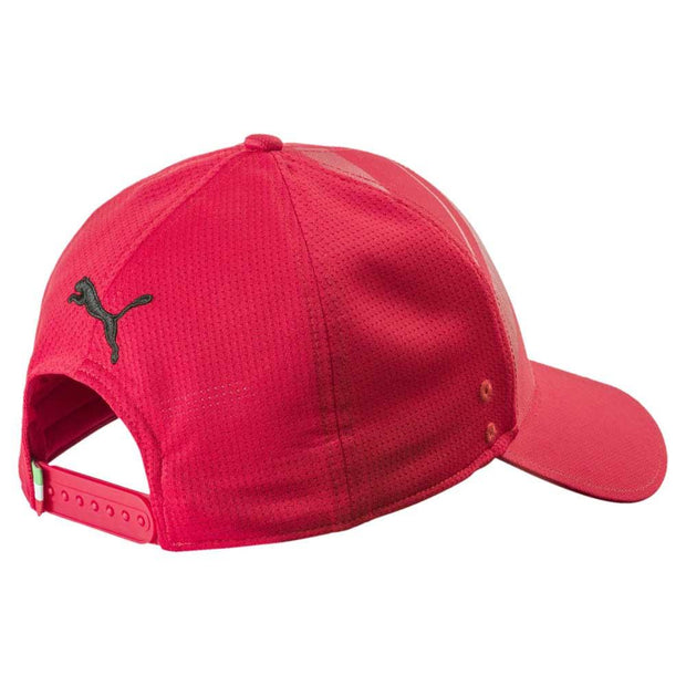 Puma Scuderia Ferrari Fanwear Tech Baseball Cap - Kids - Red