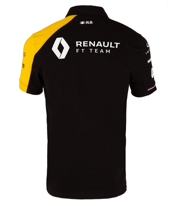 Renault F1® Team Polo shirt - Men – Black