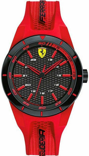 Ferrari Men's APEX Quartz Watch with Silicone Strap