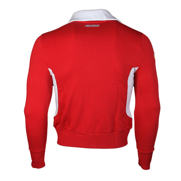 Scuderia Ferrari Full Zip Sweatshirt - Women - Red