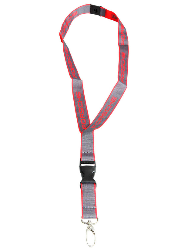 Porsche Design Lanyard Keychain - Accessories - Red and Black
