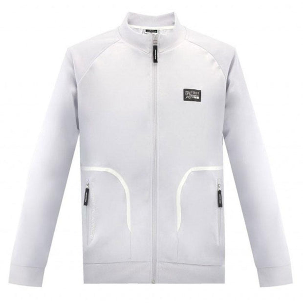 Michael Schumacher Track Jacket - Men - Grey - FanaBox