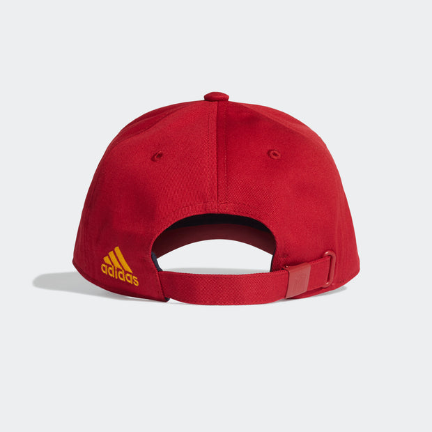 Adidas Spain Football Club National Soccer Team Cap - Men - Burgundy
