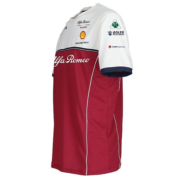 Alfa Romeo Racing Team T-Shirt - Men - Red