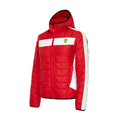 Scuderia Ferrari Packable Jacket - Women - Red - FanaBox