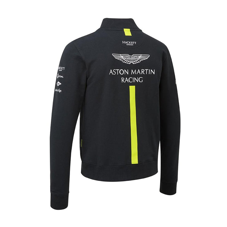 Aston Martin Racing Replica Team Sponsor Sweatshirt  - Men - Navy Blue
