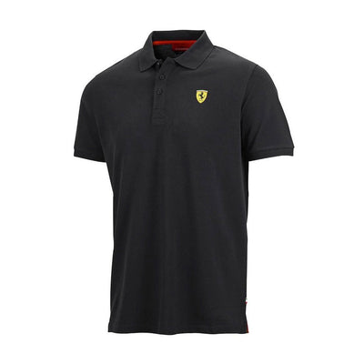 Fan-Wear-Ferrari-F1-KIDS-Classic-Polo-Shirt-Black-