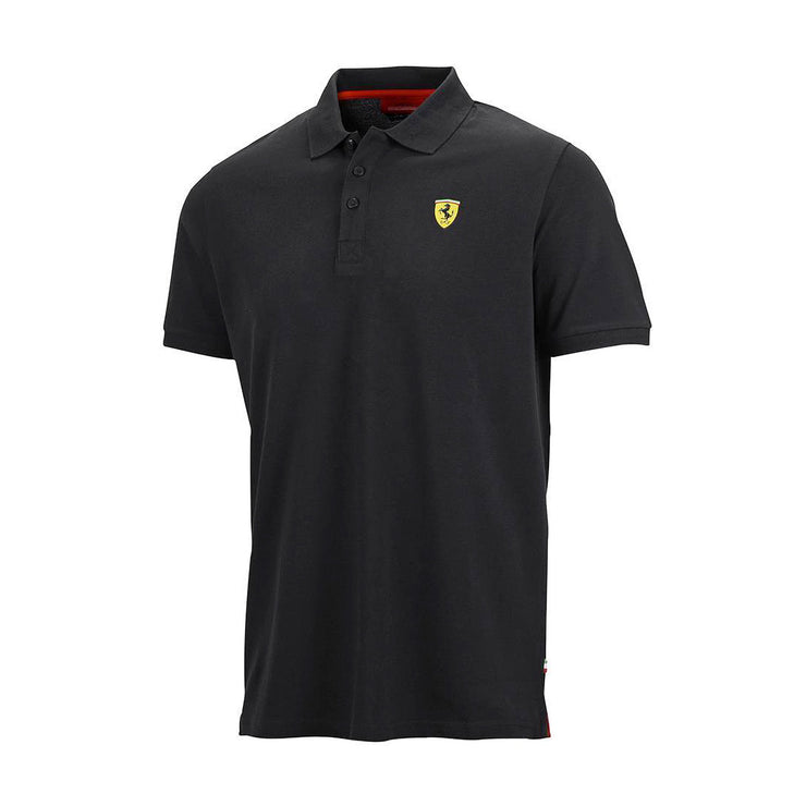 Fan-Wear-Ferrari-F1-Men-Classic-Polo-Shirt-Black