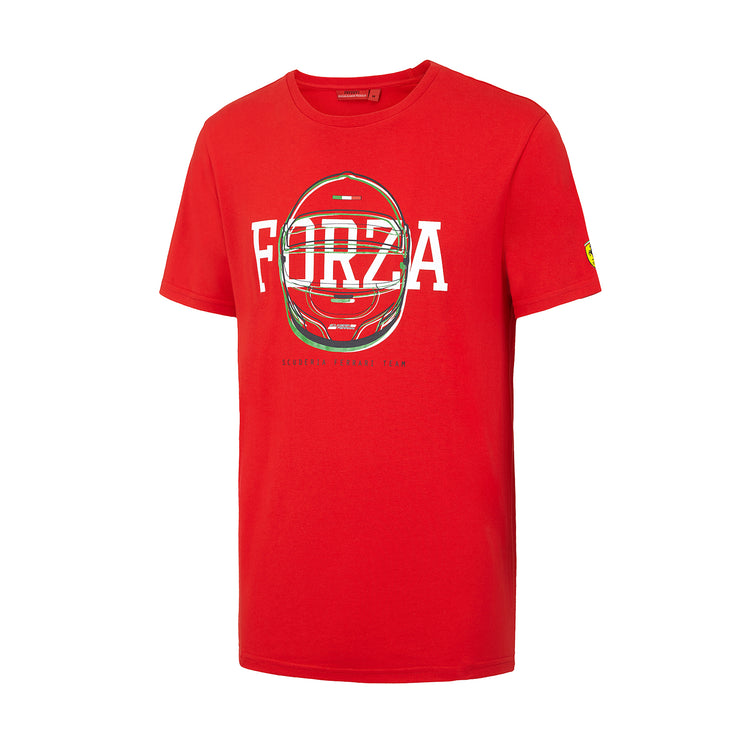 Scuderia Ferrari Forza Helmet T-shirt - Men - Red