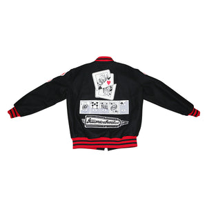 Graphic Varsity Jacket