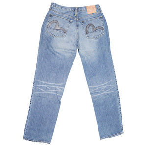 Evisu Faded Jeans