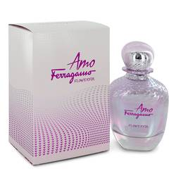 Amo Flowerful Eau De Toilette Spray By Salvatore Ferragamo